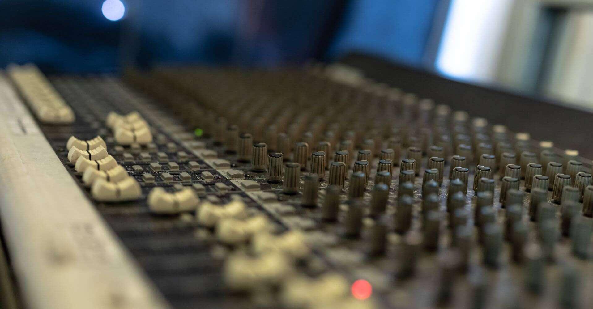 sala prove fano Studio Sette Mixer