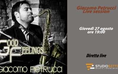 Live session Giacomo Pietrucci
